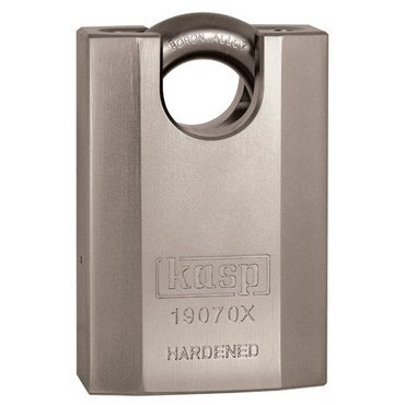 K19070X Kasp 190 Series High Security Padlock 70mm Closed Shackle