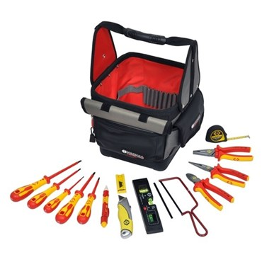 T5952 CK Tools Magma Electricians Tool Tote KIT