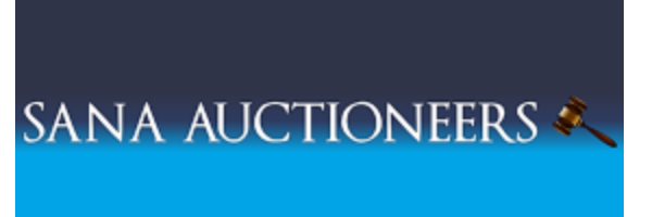 SANA AUCTIONEERS office logo