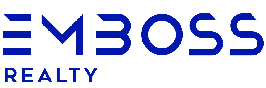 Emboss Realty office logo