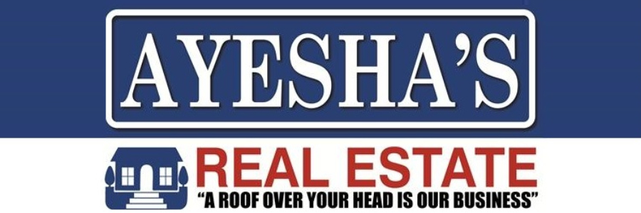 Ayesha's Real Estate office logo