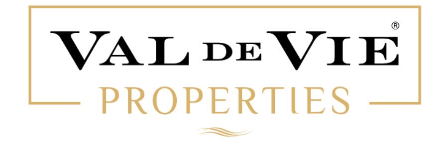 Val de Vie Properties office logo