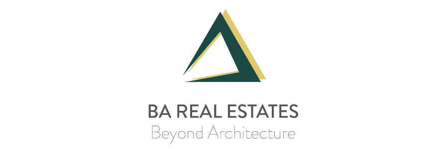 BA REAL ESTATES office logo
