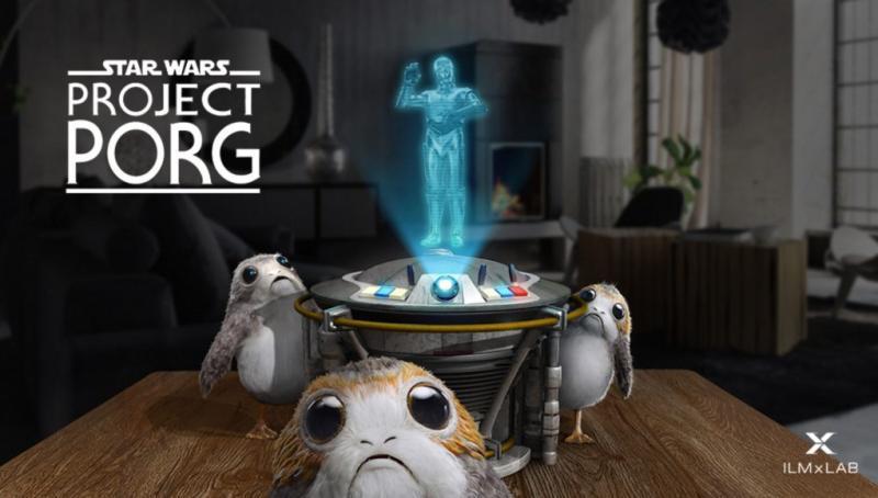 Magic Leap : ILMxLab travaille sur un projet Star Wars en réalité augmentée pour Magic Leap – Project Porg  - 2