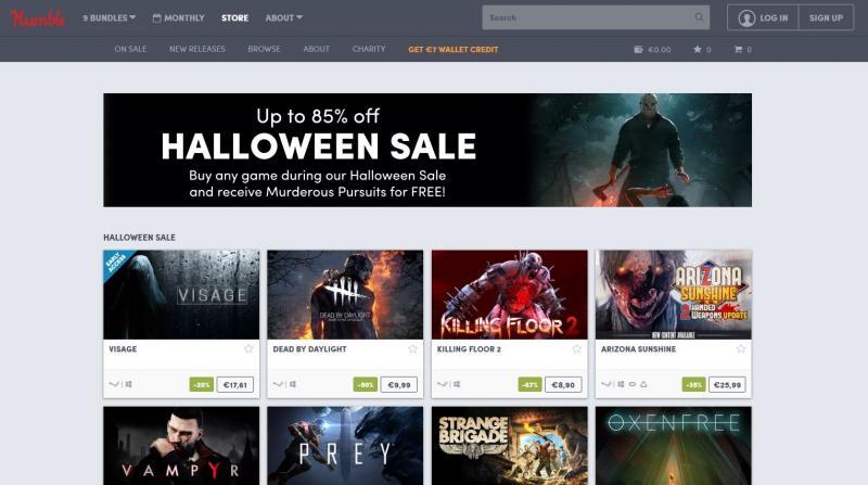 Bon plan : Humble Bundle fête aussi Halloween avec quelques promotions dont Arizona Sunshine, Contagion VR, Torn... - 2