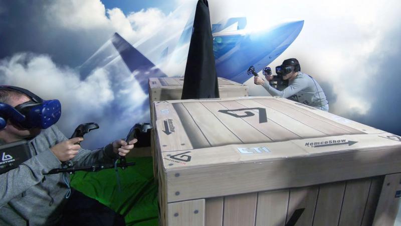 Les Pimax 8K et 5K+, le Samsung Odyssey+, et la PGW avec les tests de Tetris Effect et Ace Combat 7, c'est le VirtualMag ! - 2