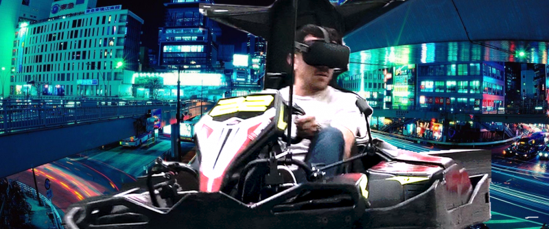 Du Mario Kart VR en VRAI - 2