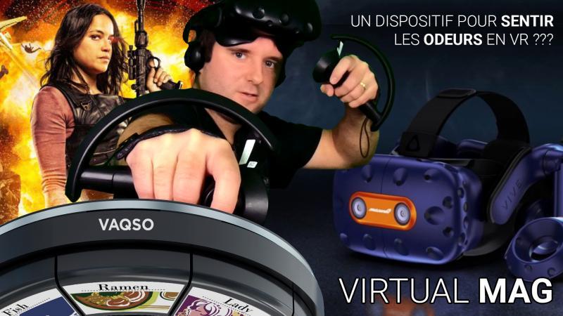 Vaqso VR pour sentir les odeurs en VR, un brevet Oculus et un Vive Pro McLaren (#VirtualMag 007) - 2