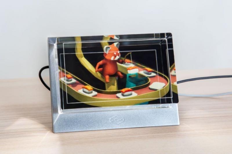 L'affichage holographique Looking Glass combiné au Vive Tracker : un résultat assez incroyable ! - 2