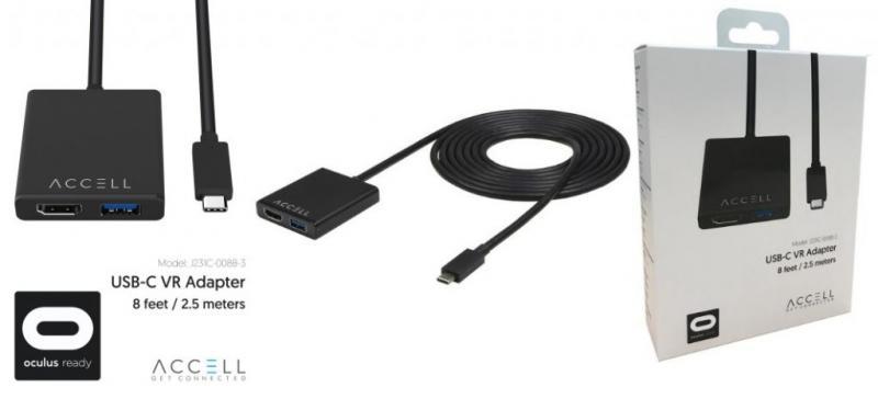 Un adaptateur USB-C pour les casques Oculus Rift et Windows VR - 4