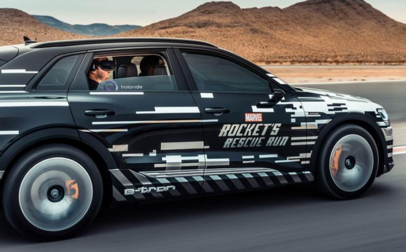 CES 2019 : Audi rêve de casques VR dans chacune de ses voitures - 6