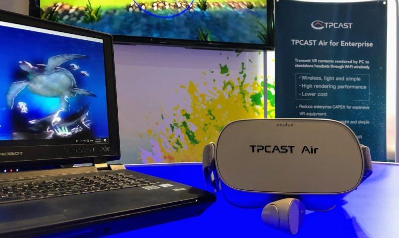 CES 2019 : TPCast Air veut faire de nos casques autonomes des casques PC grâce au streaming - 2