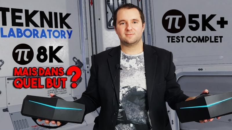 Vidéo-Test : Pimax 8K VS 5K+. Lequel choisir ? Ma réponse claire et sans détour dans le #TekNiK 003 ! - 2