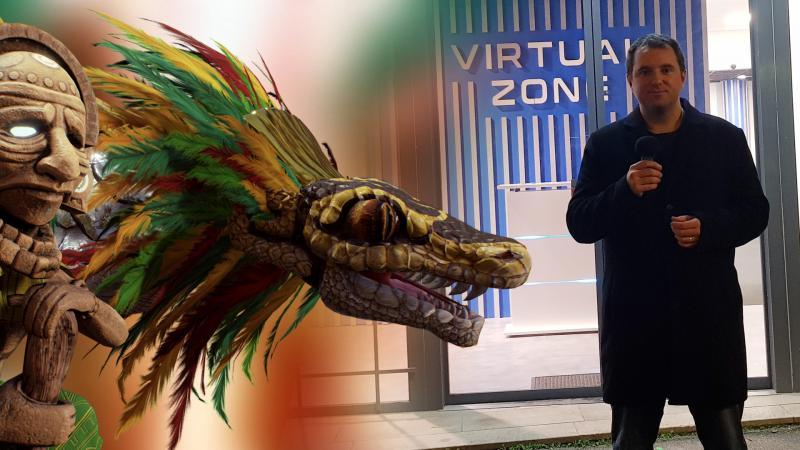 Interviews et test de la salle d'arcade VR Virtual Zone/ Yucatan à Lyon (#TalkToNiK) - 2