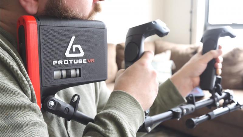 ForceTube, le retour de force du Protube VR bientôt sur Kickstarter - 2