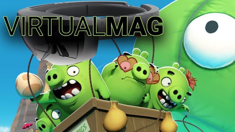 La rumeur HoloLens V2, des Comics en 3D et des Angry Birds en VR (#VirtualMag 010) - 2