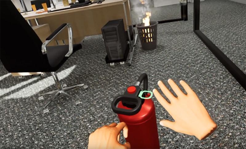 YouRescue : formation à la sécurité incendie en réalité virtuelle - 2
