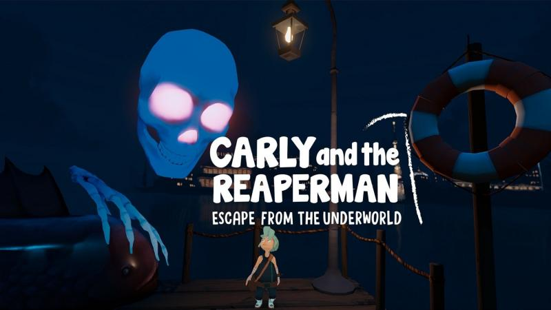 Test - Carly and the Reaperman : Escape from the Underworld - 2