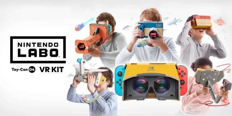 Nintendo se lance officiellement dans la réalité virtuelle en avril - 2