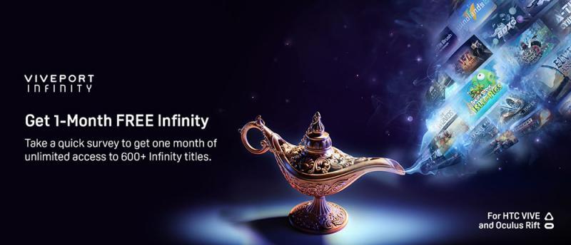 Viveport Infinity : HTC vous offre un mois jusqu'au 17 Mars ! - 2