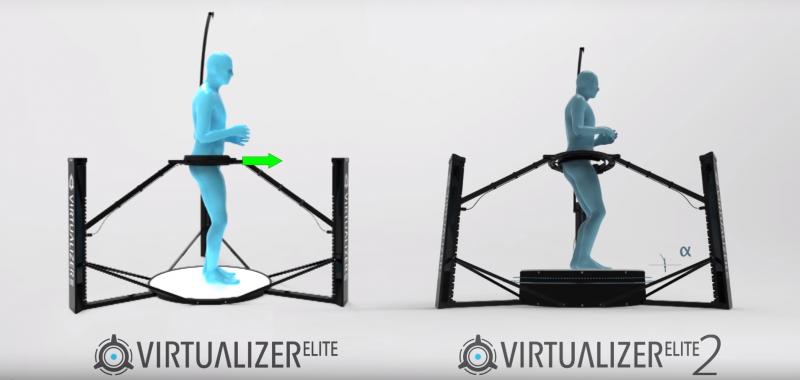 Cyberith présente un nouveau modèle pour le tapis omnidirectionnel Virtualizer - 2