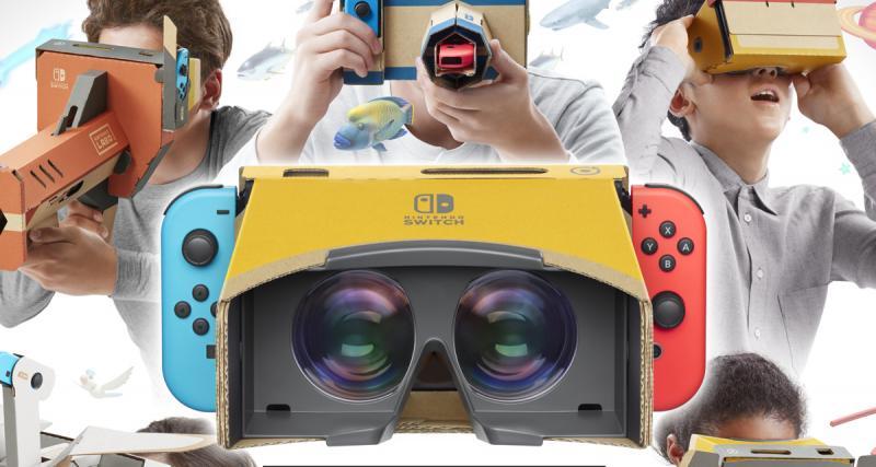 Nintendo Labo VR Kit : une vidéo de présentation et l'ouverture des précommandes - 2