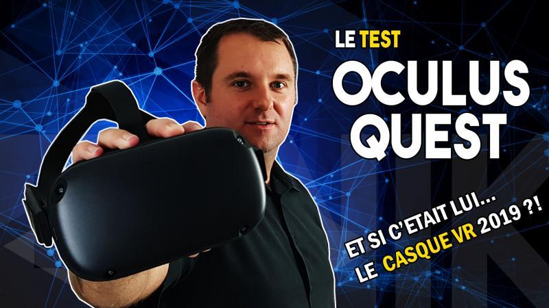 Notre vidéo-test de l'OCULUS QUEST : le petit casque VR qui a tout d'un grand !! (#TekNiK) - 2