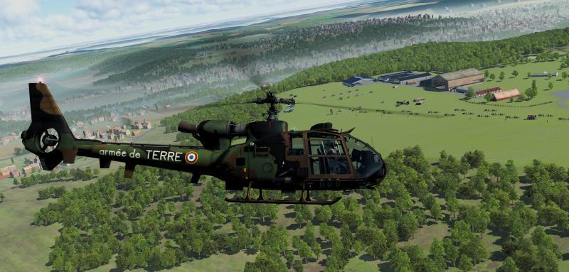 Si vous voulez voler au dessus de la France en réalité virtuelle sur Vive Pro, rendez-vous à la Ferté-Alais les 8 et 9 juin - 2