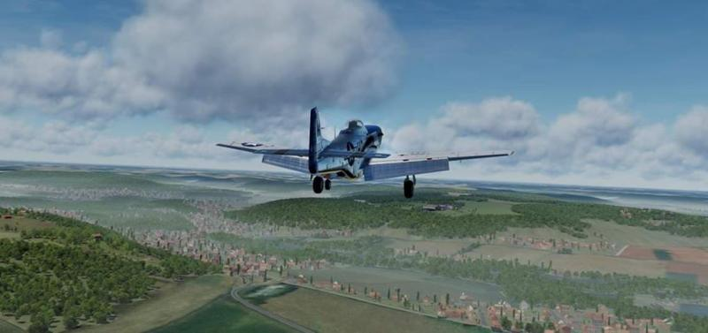 Si vous voulez voler au dessus de la France en réalité virtuelle sur Vive Pro, rendez-vous à la Ferté-Alais les 8 et 9 juin - 4