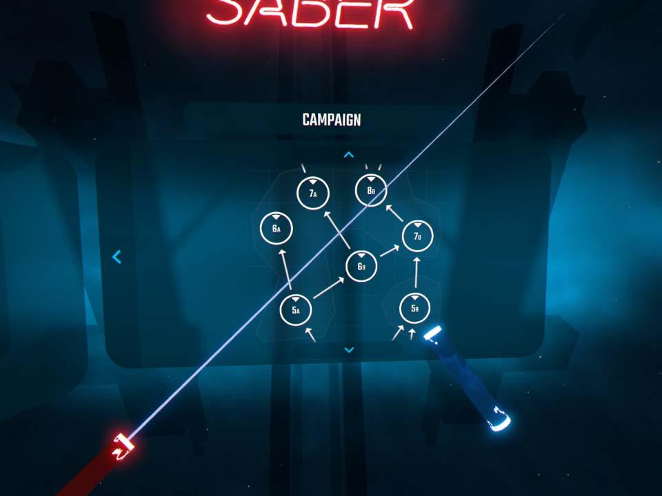 Test - Beat Saber : StarWars VR en musique