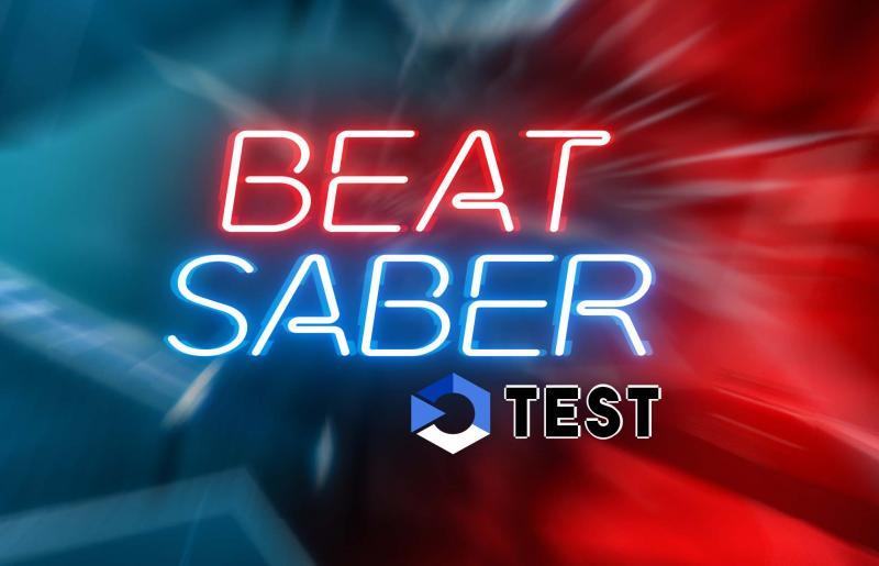 Test - Beat Saber : StarWars VR en musique  - 2
