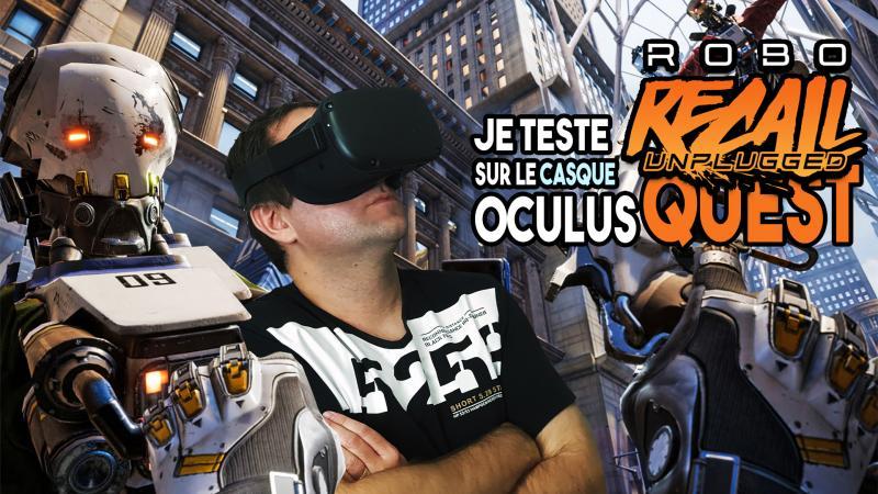 Vidéo-test de Robo Recall: Unplugged ! Le jeu a-t-il réussi sa reconversion portable ?? - 2