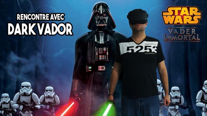 Je rencontre Dark Vador en réalité virtuelle !!! Le test-vidéo de Vader Immortal Episode 1 sur Oculus Quest ! - 2