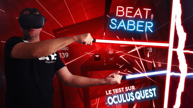Le vidéo-test du déjà culte Beat Saber sur l'Oculus Quest - 2