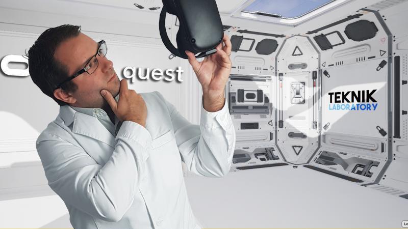 TEST OCULUS QUEST : le passage au labo du casque autonome ! (Partie 2, #TekNiK 008) - 2
