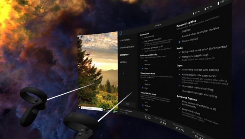 Oculus Quest : Oculus force le retrait sur Virtual Desktop de la fonction de streaming de SteamVR - 2