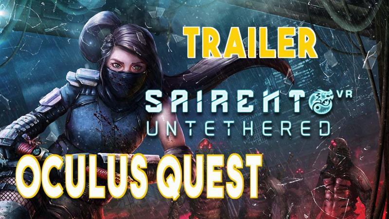 Sairento VR : Untethered dispo sur l'Oculus Quest - 2