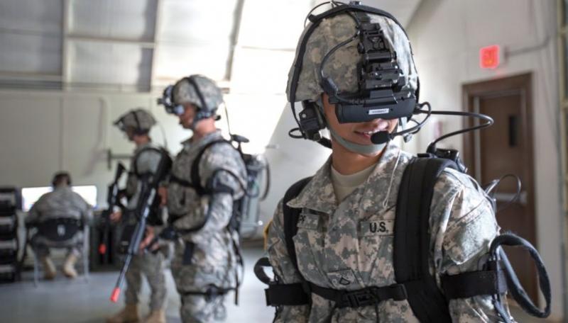 Entraînement des forces de combat engagées dans la guerre nucléaire sur le champ de bataille à l'aide de la technologie VR.