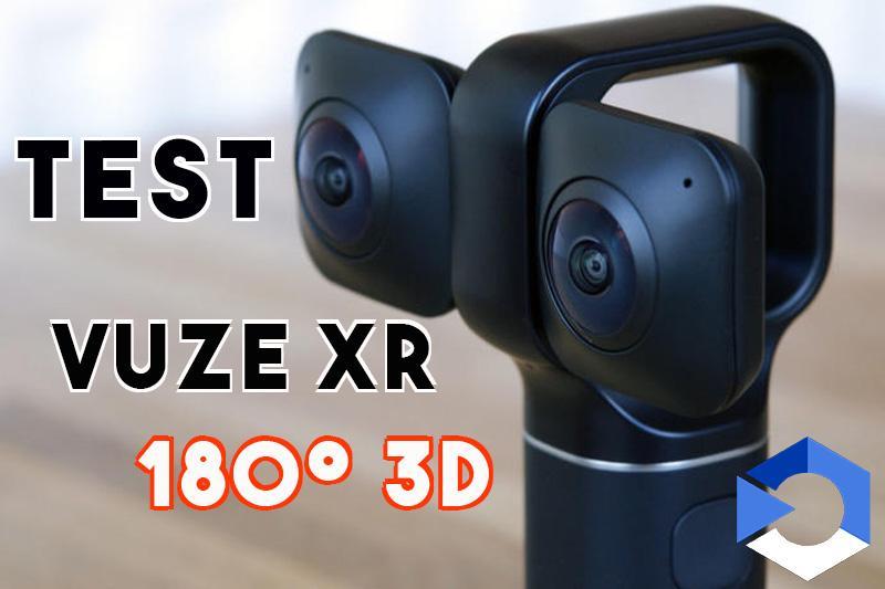 Vuze XR : présentation vidéo de la caméra 360 et 180° 3D à 5.7K - 2