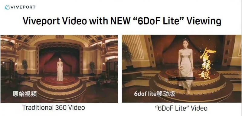 HTC 6 DOF Lite  Video Mode est disponible sur tous les casques Vive - 4