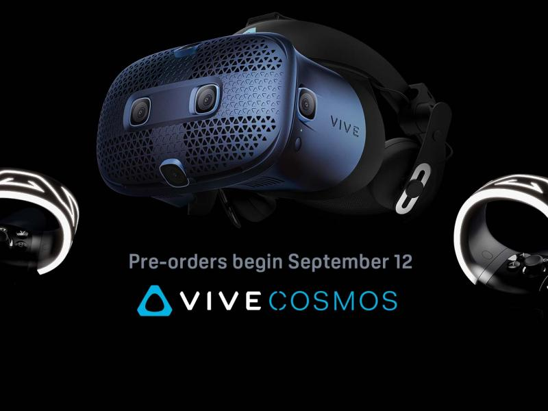 Vive Cosmos : précommande ouverte le 12 septembre !  - 2