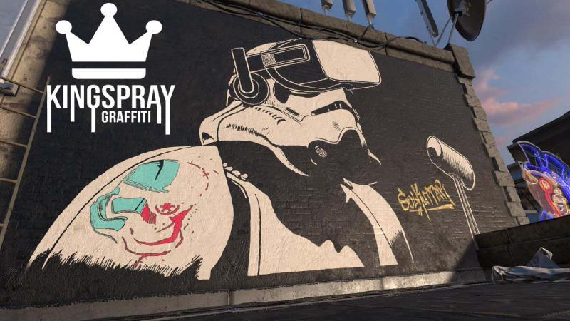 Le jeu de graffiti Kingspray va débarquer sur Oculus Quest - 2