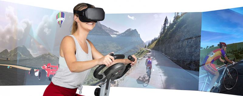 VzFit : pédalez dans le monde entier avec l'Oculus Quest et l'Oculus Go ! - 2