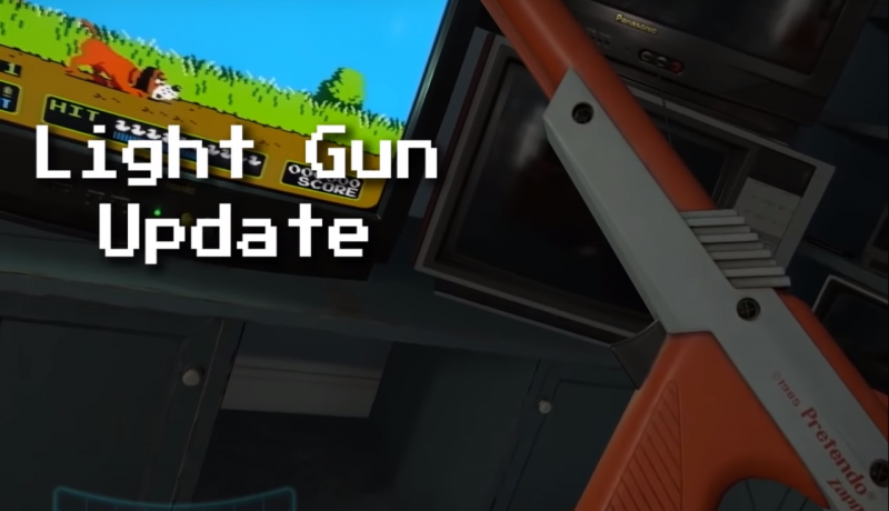 EmuVR propose à présent l'émulation du NES Zapper - 2
