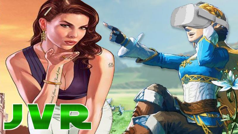 Le JVR est dispo: GTA 5 VR, Zelda Breath Of The Wild VR, Predator VR, Stormland et tant d'autres... - 2