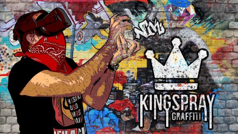 Vidéo-test : Kingspray Graffiti sur l'Oculus Quest ! (Let's Quest 014) - 2
