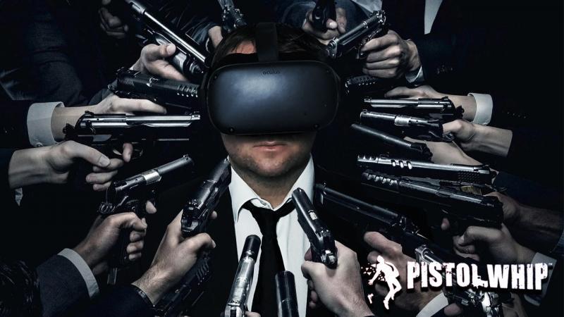 Test-vidéo de PISTOL WHIP ou comment se prendre pour John Wick en VR !  (Valve Index et Oculus Quest) - 2