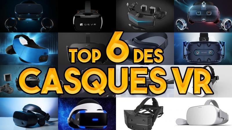 Vidéo : le TOP 6 des casques VR 2019 / début 2020 - 2