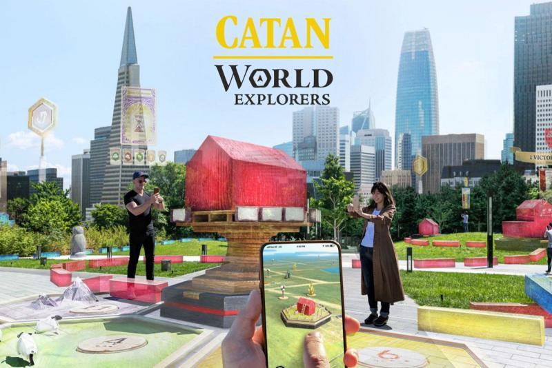 Catan : World Explorers en Réalité Augmentée  - 2