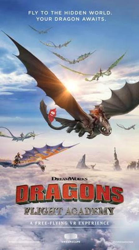 DreamWorks permet de voler sur des Dragons en Réalité Virtuelle 4D - 4